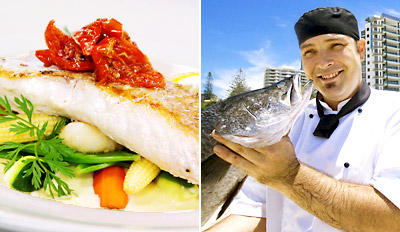 $59 -- 'Qld's Best' Seafood Restaurant: Dinner for 2 w/Wine