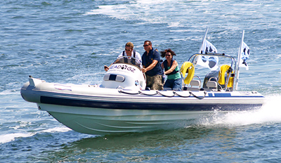 £21 - Solent: 90-Minute High-Speed Summer Boat Tour, Reg £55