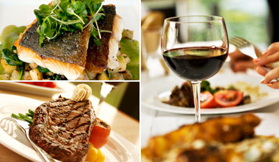 $59 - Santa Barbara: 3-Course Dinner for 2 w/Wine, Save $60