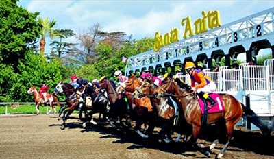$35 - Santa Anita Horse Racing: VIP Pass w/Lunch, Reg. $72