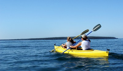 $25 -- Half Moon Bay Kayak or Paddleboard for 2, Half Off
