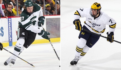$7 - MSU vs. UM Hockey: Rivalry Game at The Joe, 40% Off