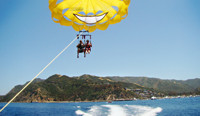 $65 - Parasailing Adventure for 2 in Long Beach, Reg. $130