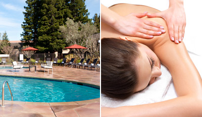 $189 - Napa Marriott: Massage, Facial, Pedi, Lunch & Wine