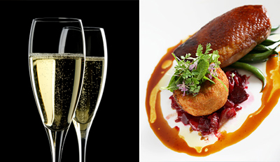 £25 -- Michelin-Rated Dinner & Prosecco for 2, Reg £65