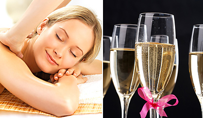 £35 -- Harrogate: 1-Hour Massage or Facial w/Bubbly, Reg £65