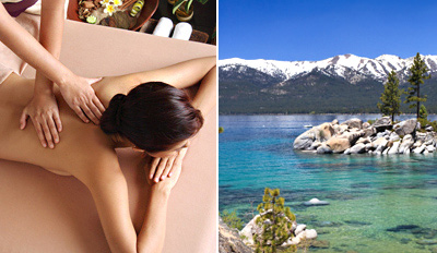$99 - Tahoe: Lakefront Spa Day w/Massage & Facial, Reg. $210
