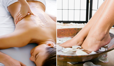 $79 - Award-Winning Union Sq. Spa: Massage & Pedi, Reg. $158