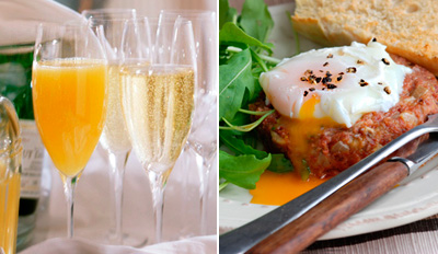$29 - Zagat Pick: Brunch for 2 w/Unlimited Mimosas, Reg. $60