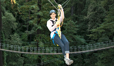 $39 - Thrilling Zip-Line Tour through the Redwoods, Reg. $80