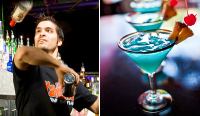$25 - Treasure Island: 6 Drinks & Bartender Show, 55% Off