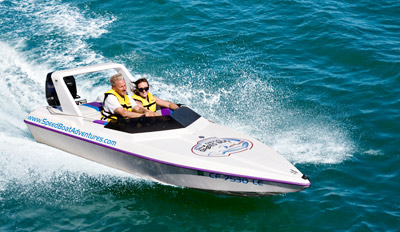 $64 - Tampa Bay Speedboat Adventure for 2, Reg. $125