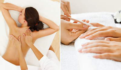 $79 - Massage, Facial, Mani & Wine on Ventura, Reg. $158