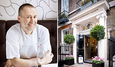 £89 - Michel Roux Jr : 7 Courses & Cocktails for 2, Reg £159