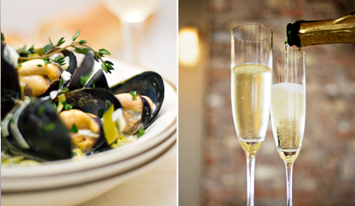 £29 -- Dinner for 2 inc Prosecco w/Pennines Views, Reg £63