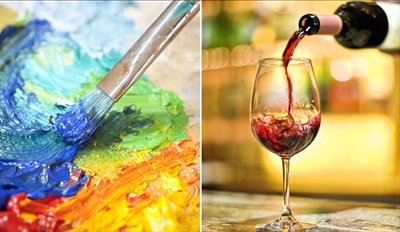 $29 - Step-by-Step Painting Class w/Wine & Apps, Reg. $59