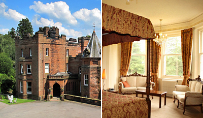 £79 -- Scottish Country House Stay for 2 w/Dinner & Fizz