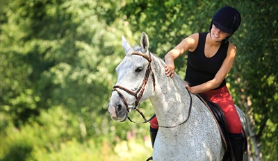 $75 -- Private Horseback Ride for 2 w/Picnic, Reg. $155