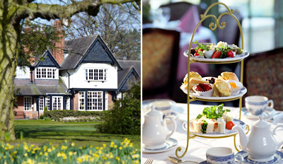 £20 - Afternoon Tea & Bubbly for 2 at Country Manor, Reg £37