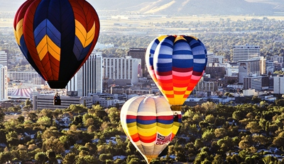 $129 -- Sunrise Hot Air Balloon Ride w/Bubbly, Reg. $188
