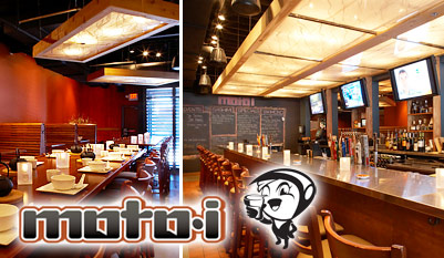 $10 - Uptown's moto-i, Japanese Meal & Drinks, Reg. $30