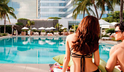 $39 - Four Seasons: Poolside Drinks & Apps for 2, Reg. $108