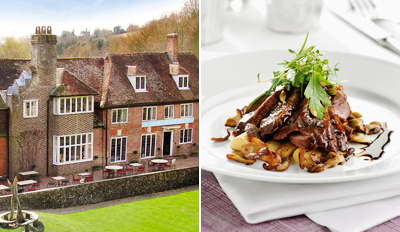 £119 -- Gourmet South Downs National Park Escape, Reg £219