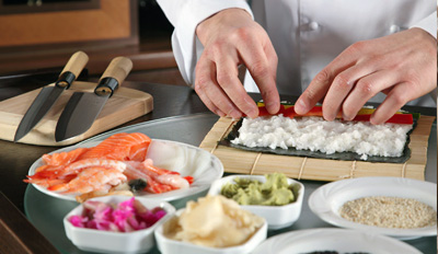$99 - Sushi-Making Class for 2 w/Dinner & Drinks, Reg. $200