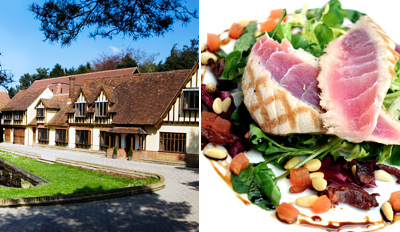 £39 -- Dinner & Bubbly for 2 at Herts Country Manor, Reg £99