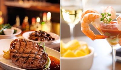 $69 - Raindancer Steakhouse Dinner for 2, Reg. $135