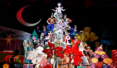 $22.50 - 'Cirque Dreams Holidaze' in Salisbury, Half Off