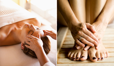 $69 - Glam Spa Day w/Massage, Mani & Pedi, Reg. $135