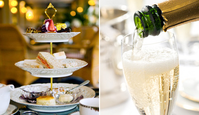 £19 -- Seafront Champagne Afternoon Tea for 2, Reg £48