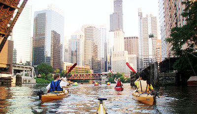 $29 - Top-Rated Kayak Tours down the Chicago River, Reg. $65