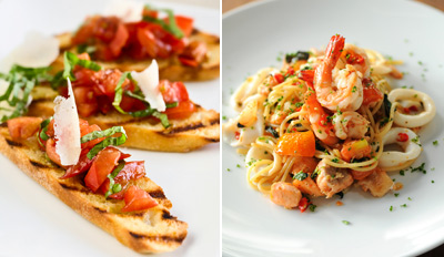 $35 - Metro Times: Flavorful Italian Dinner for 2, Reg. $71