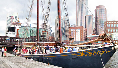 $35 - Tall Ship Cruise on Boston Harbor w/$10 Drink Credit