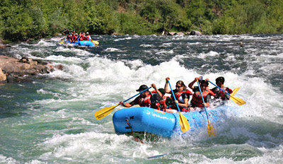$189 -- Overnight Rafting Trip & Winery Tours this Summer