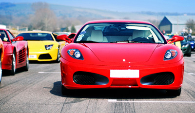 $99 - Drive a Ferrari 100 mph at Regency Stadium, Reg. $349