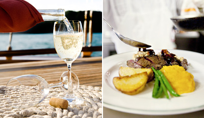 $39 - Waterfront Italian Dinner for 2 w/Wine, Reg. $78