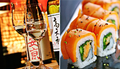 $69 - 'Extraordinary' Sushi Dinner for 2 w/Drinks, Reg. $116
