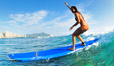 $99 - 2-Hour Surfing Lesson & 5-Day Board Rental, Reg. $214