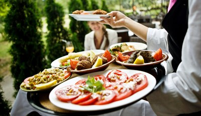 $45 -- Calagero's: Alfresco Dinner for 2 w/Drinks, Half Off