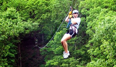 $35 - Thrilling Top-Rated Zip Line Tour, Reg. $65