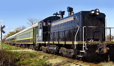 $10.50 - Coopersville & Marne Railway: Trip for 2, Half Off