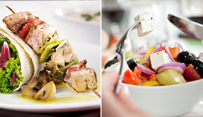 $35 - Top-Rated 4-Course Greek Dinner for 2, Reg. $79
