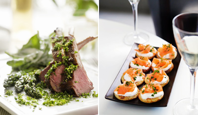 $49 - Acclaimed European Dinner for 2 w/Wine, Reg. $107
