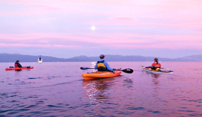 $35 - Lake Tahoe Sunset Kayak Tour thru Summer, Reg. $65