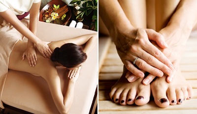 $89 - Top-Rated Spa: Massage, Mani/Pedi, Reg. $180