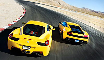 $159 - High-Speed Racetrack Drive in a Ferrari, Reg. $399
