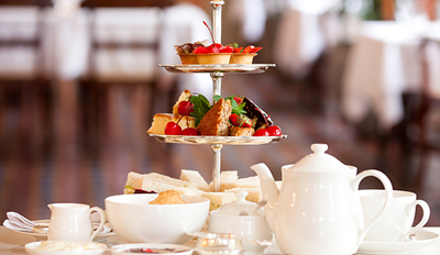 £19 - Champagne Afternoon Tea for 2 at Hilton Hotel, Reg £45